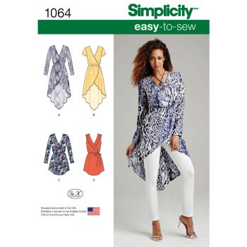 S1064 Simplicity sewing pattern R5 (14 16 18 20 22)