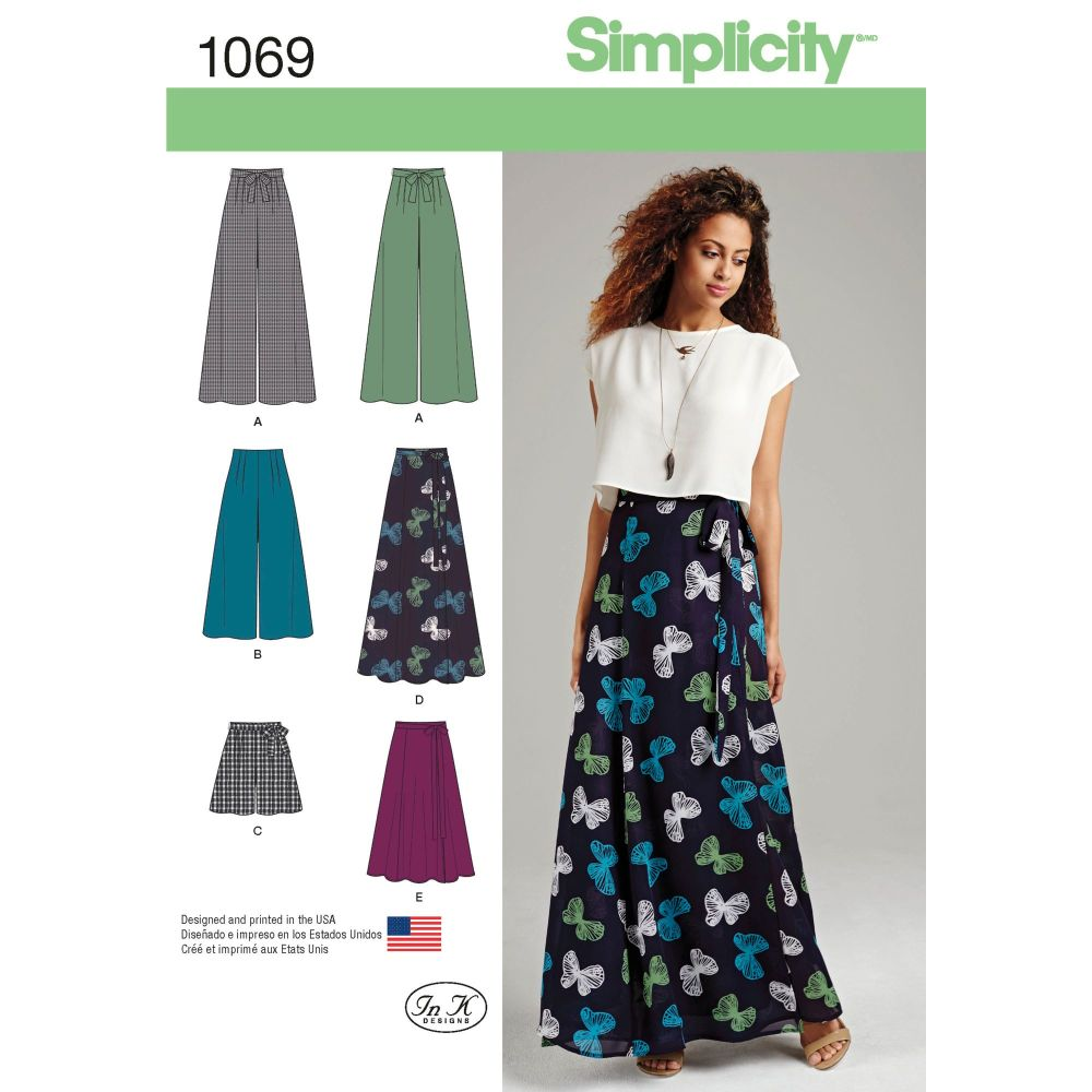 S1069 Simplicity sewing pattern D5 (4 6 8 1 12)