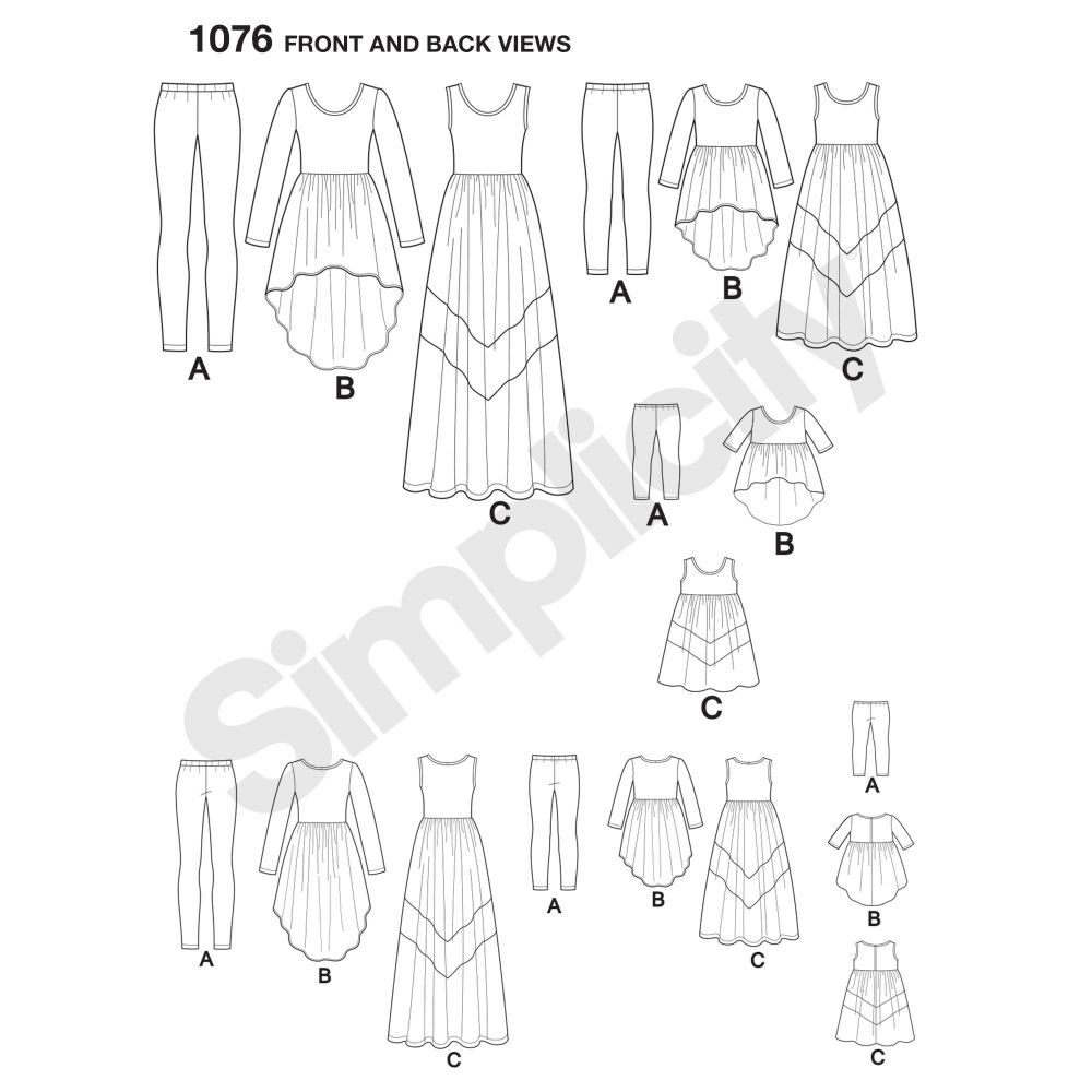 simplicity-girls-pattern-1076-front-back-view