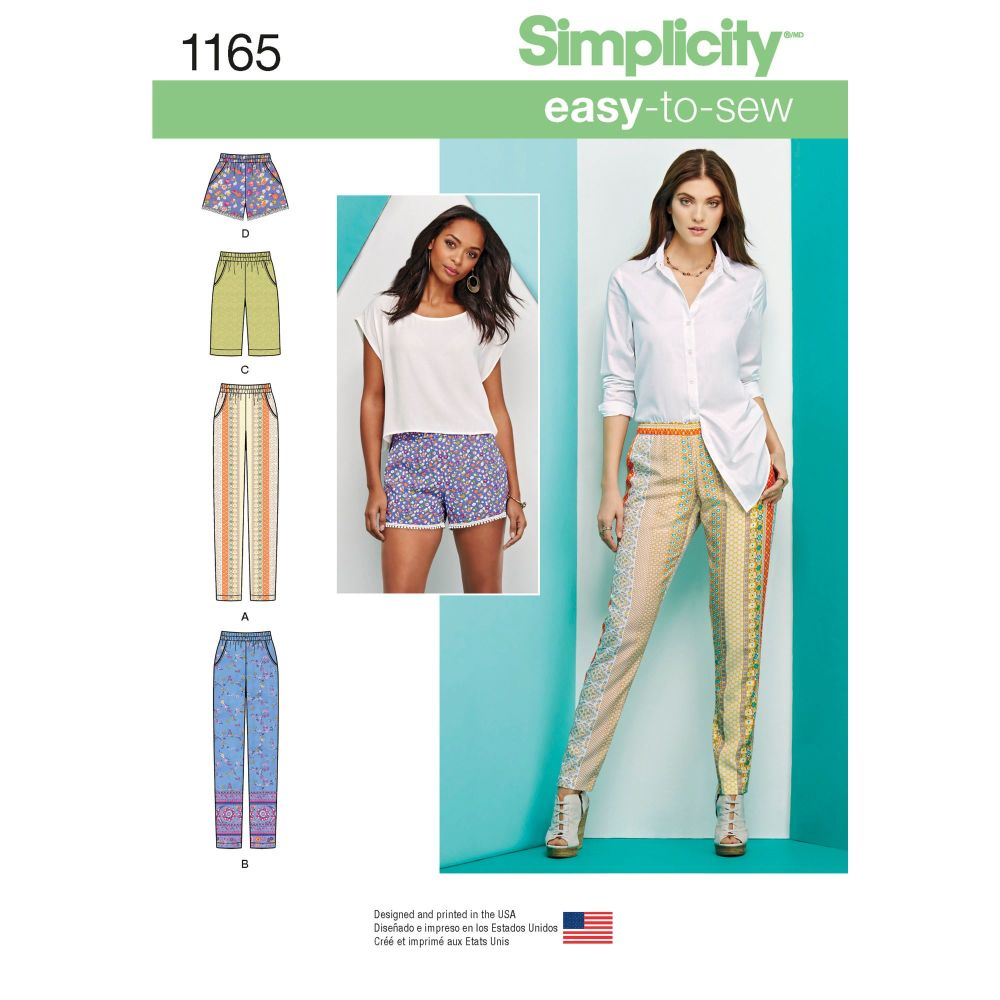 S1165 Simplicity sewing pattern H5 (6 8 10 12 14)