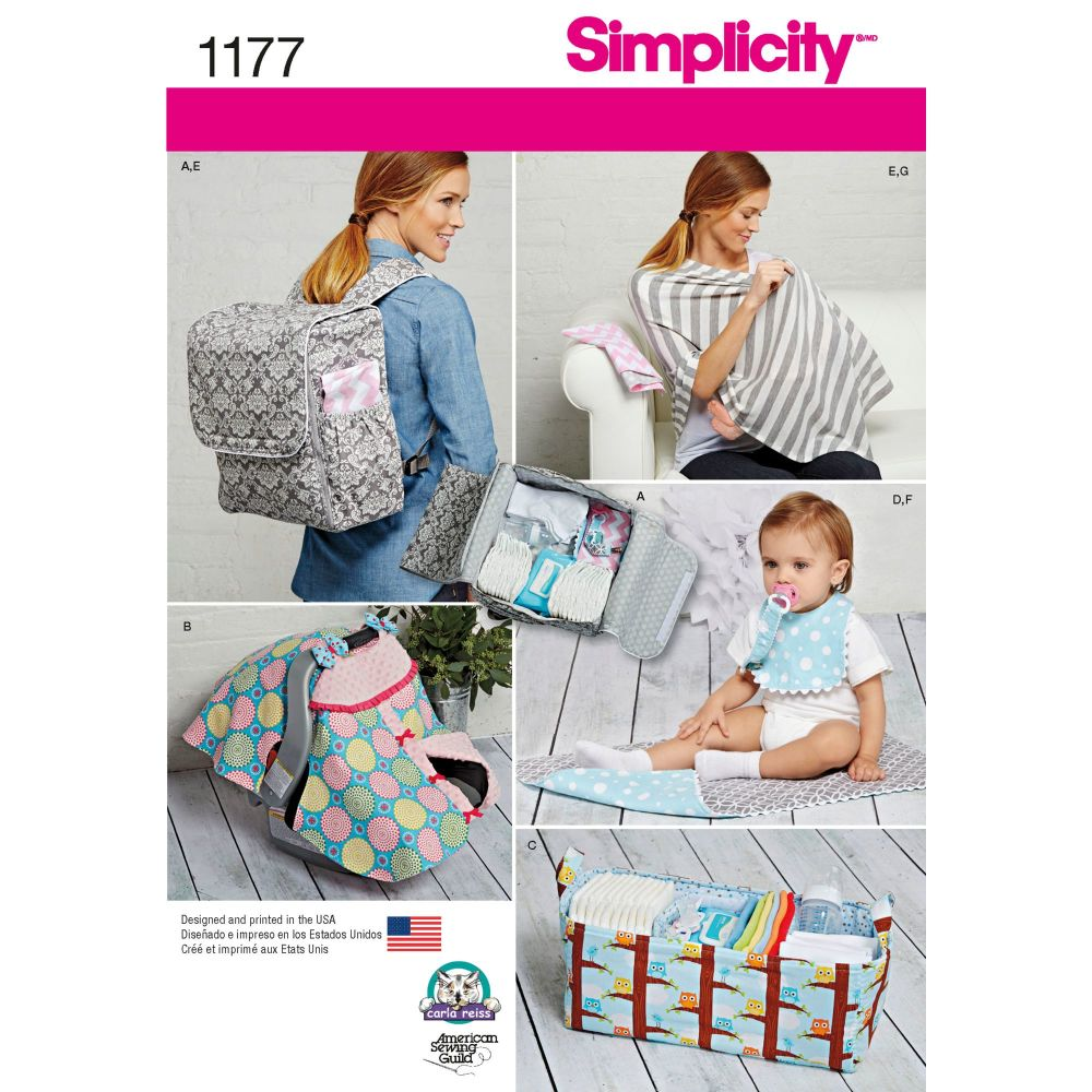 S1177 Simplicity sewing pattern OS (One size)