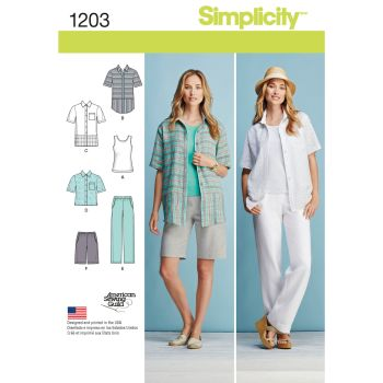 S1203 Simplicity sewing pattern AA (10 12 14 16 18)