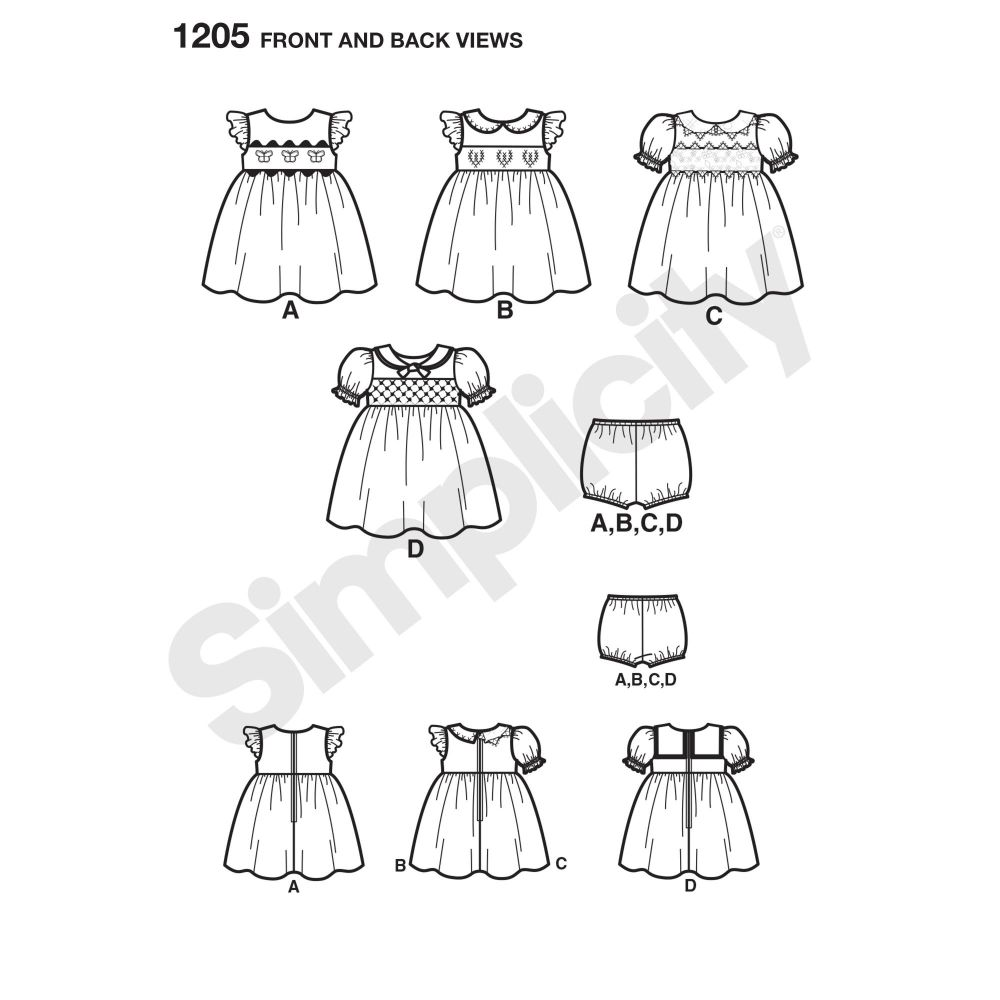 simplicity-babies-toddlers-pattern-1205-front-back-view
