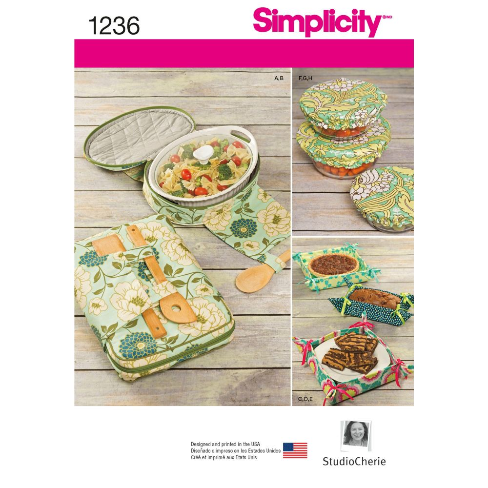 S1236 Simplicity sewing pattern OS (One size)