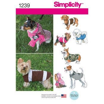 S1239 Simplicity sewing pattern A (S M L)