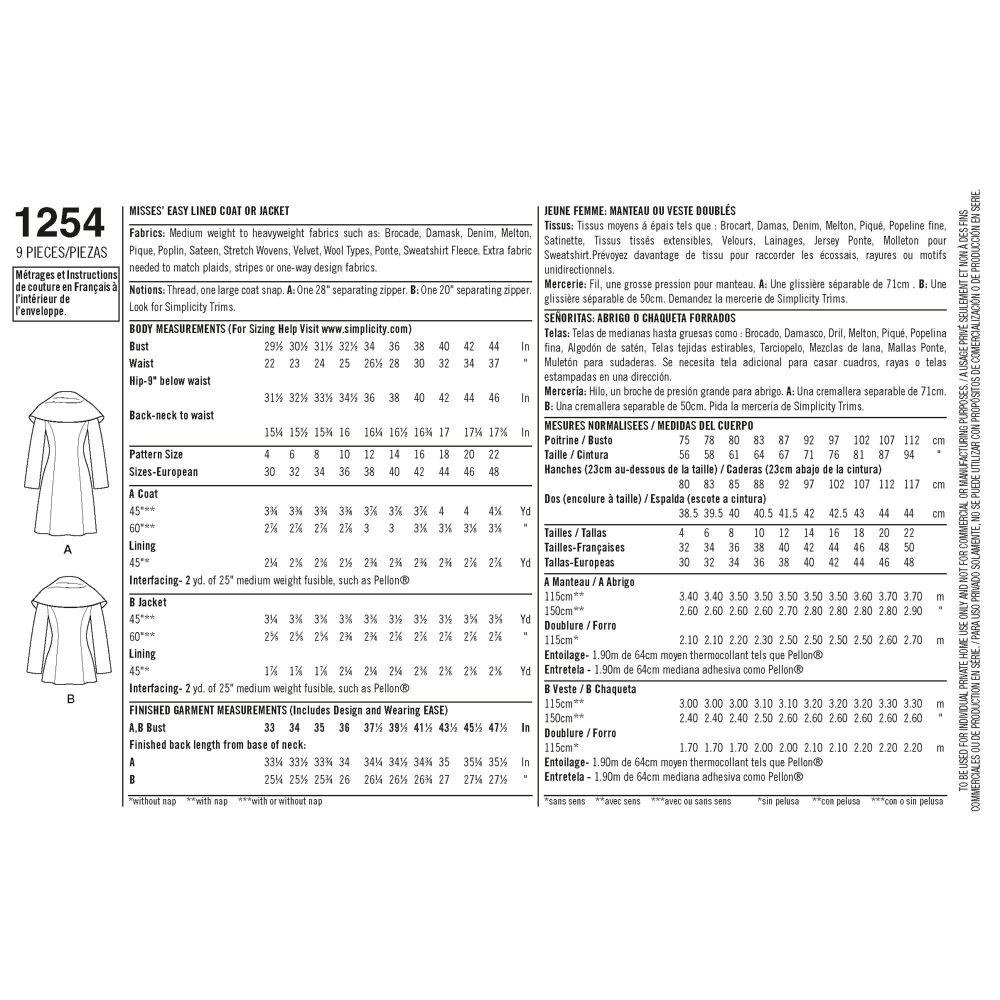 simplicity-jackets-coats-pattern-1254-envelope-back