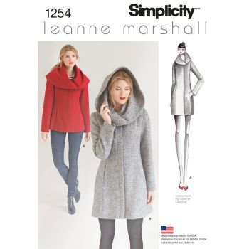 S1254 Simplicity sewing pattern R5 (14 16 18 20 22)