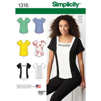 S1316 Simplicity sewing pattern H5 (6-8-10-12-14)