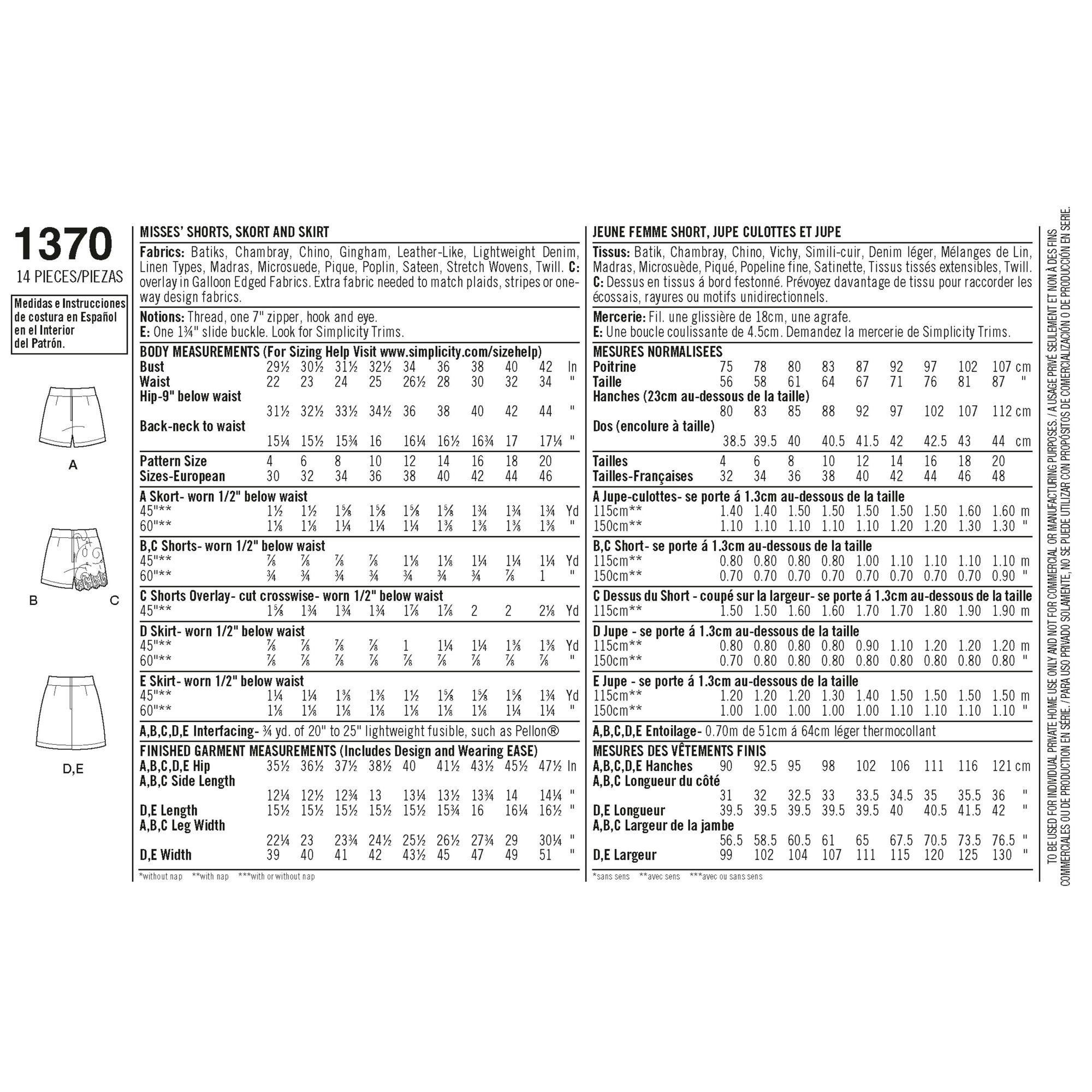 simplicity-skirts-pants-pattern-1370-envelope-back
