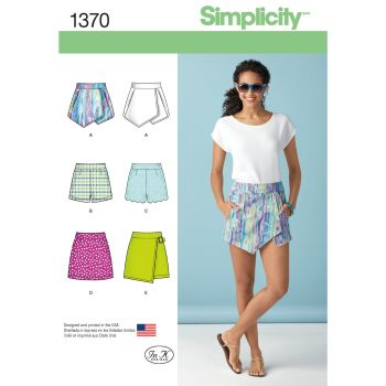 S1370 Simplicity sewing pattern P5 (12-14-16-18-20)