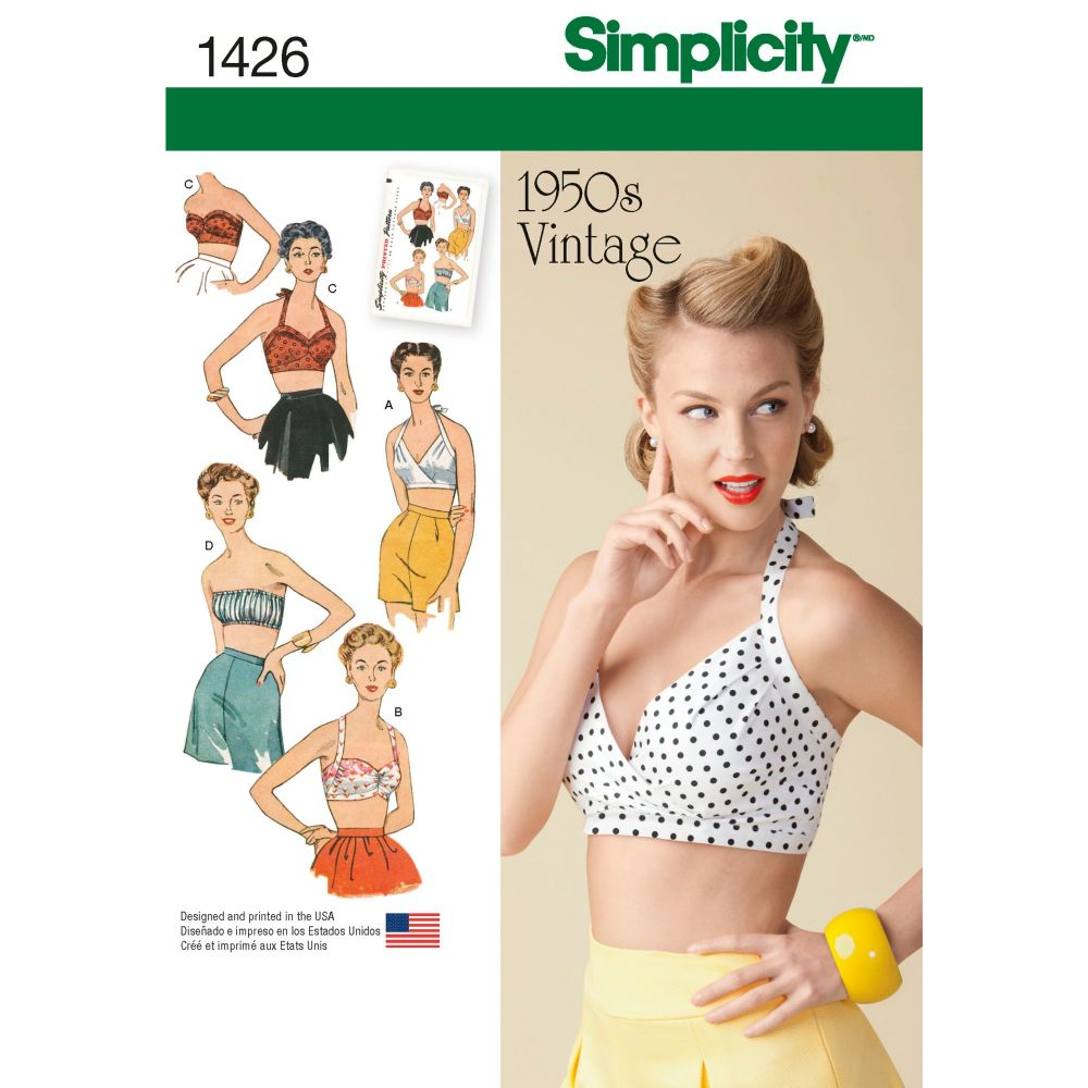 S1426 Simplicity sewing pattern R5 (14-16-18-20-22)