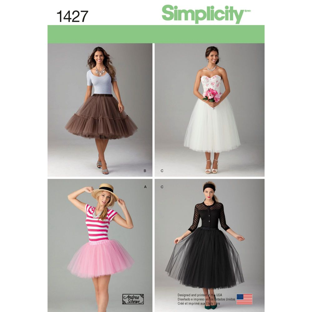 S1427 Simplicity sewing pattern D5 (4-6-8-10-12)