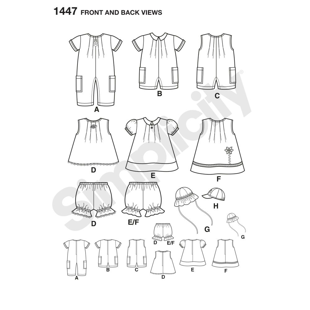 simplicity-babies-toddlers-pattern-1447-front-back-view