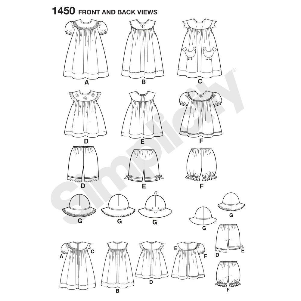simplicity-babies-toddlers-pattern-1450-front-back-view