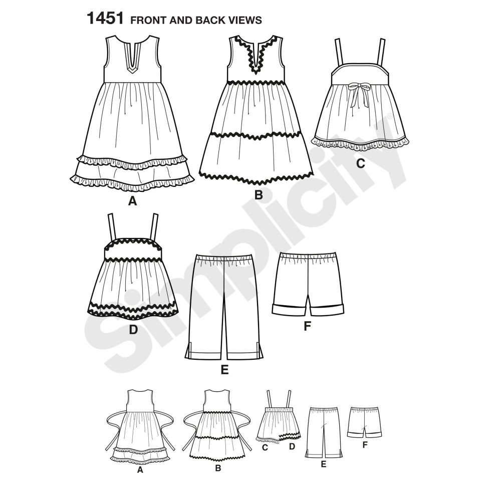 simplicity-babies-toddlers-pattern-1451-front-back-view