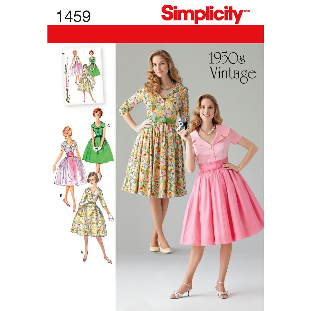S1459 Simplicity sewing pattern K5 (8-10-12-14-16)