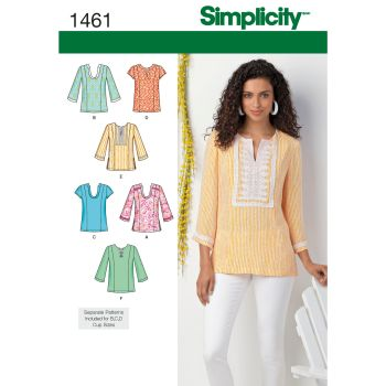 S1461 Simplicity sewing pattern AA (10-12-14-16-18)