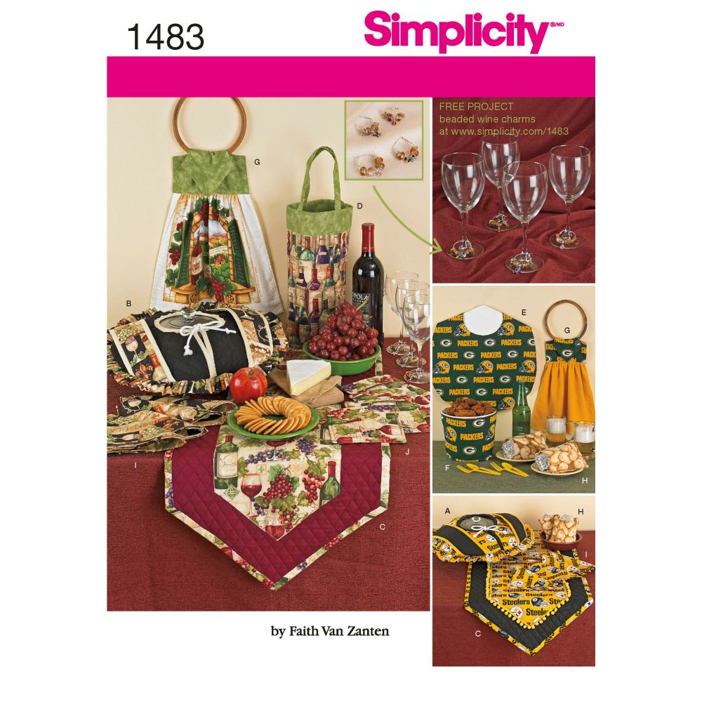 S1483 Simplicity sewing pattern OS (ONE SIZE)
