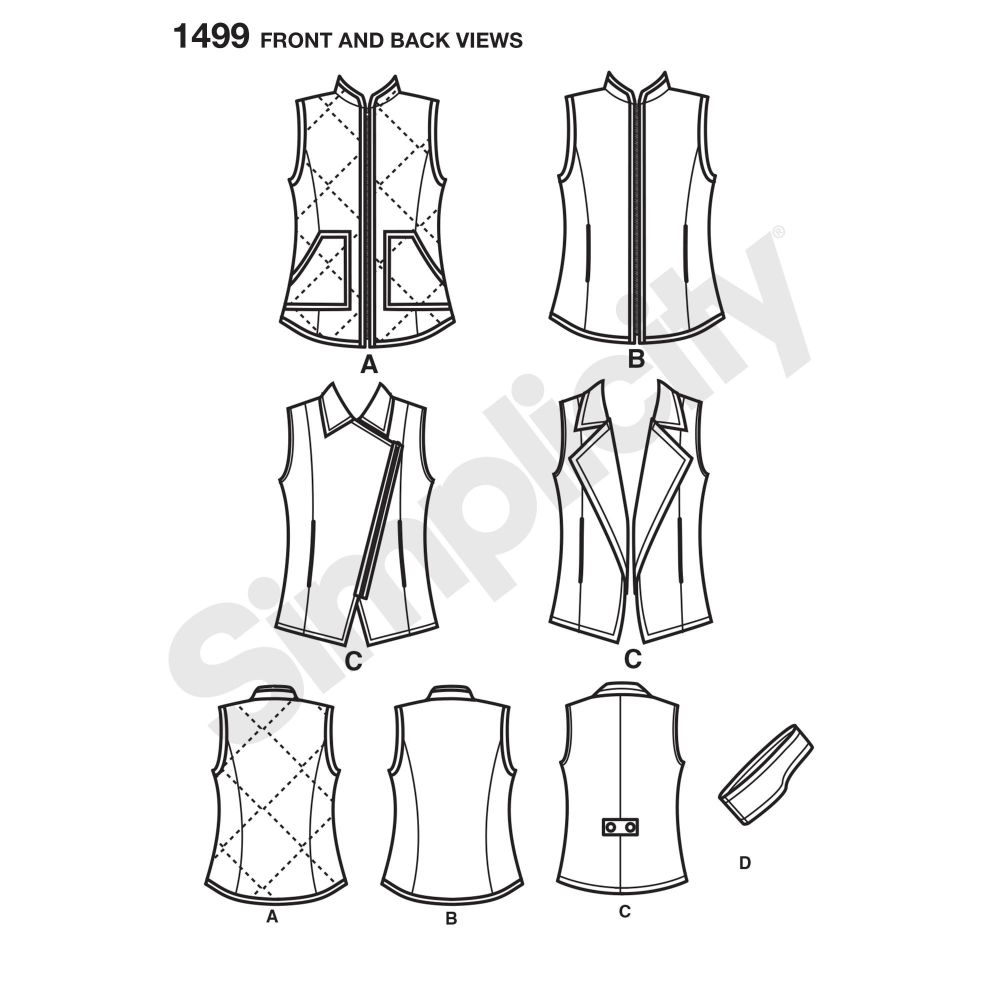 simplicity-jackets-coats-pattern-1499-front-back-view