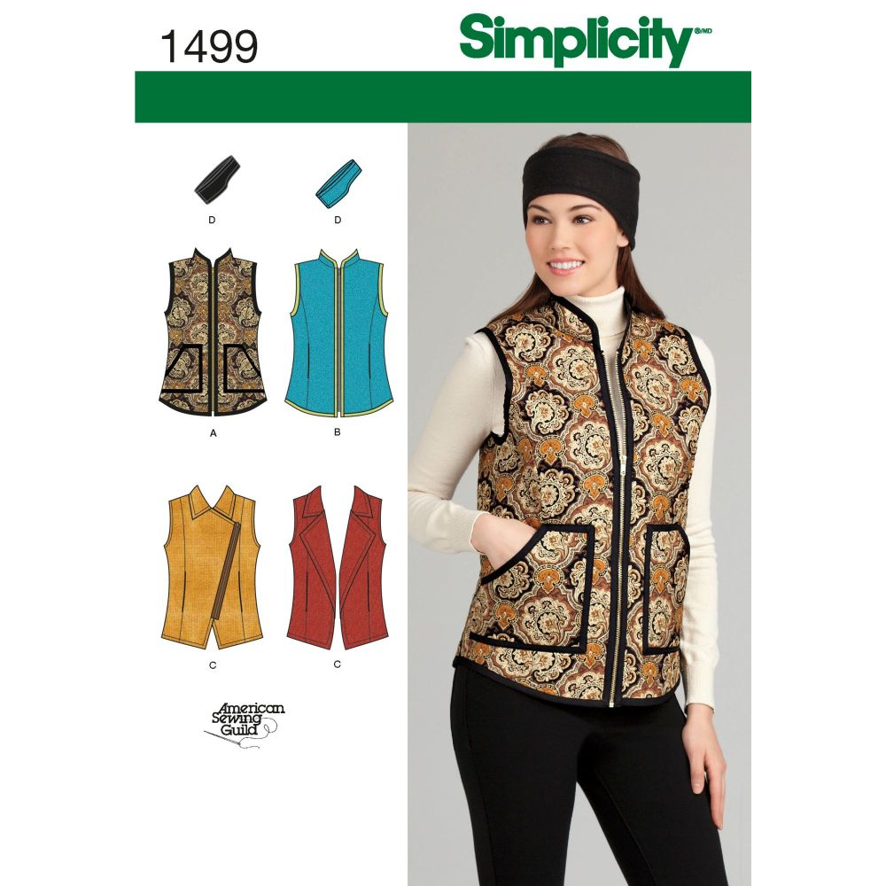 S1499 Simplicity sewing pattern H5 (6-8-10-12-14)