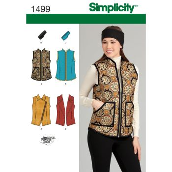 S1499 Simplicity sewing pattern U5 (16-18-20-22-24)