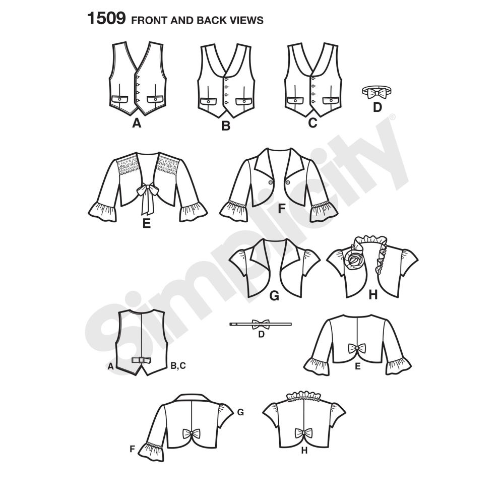 simplicity-girls-pattern-1509-front-back-view