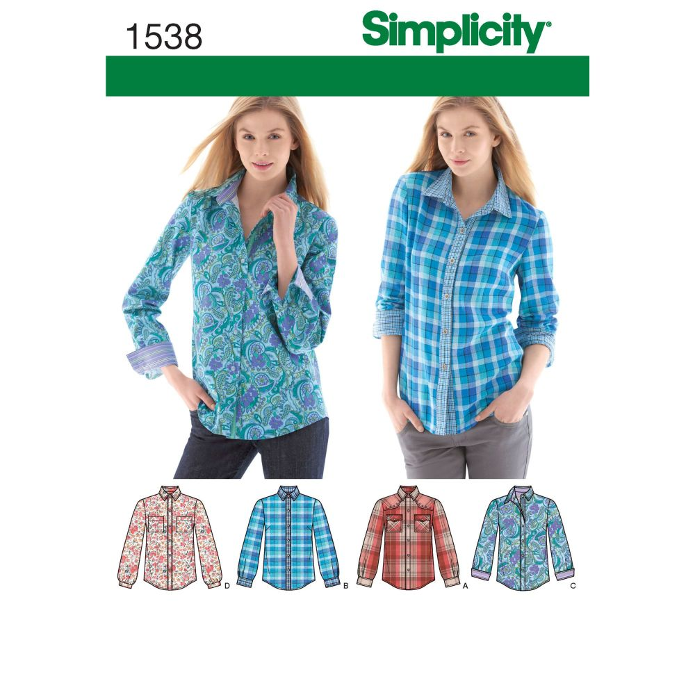 S1538 Simplicity sewing pattern H5 (6-8-10-12-14)