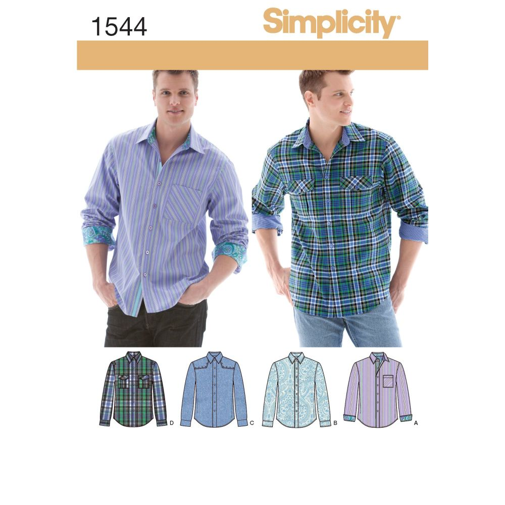 S1544 Simplicity sewing pattern AA (34-36-38-40-42)