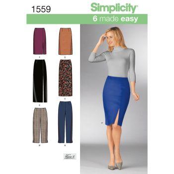 1559 Simplicity sewing pattern KK (8-10-12-14)