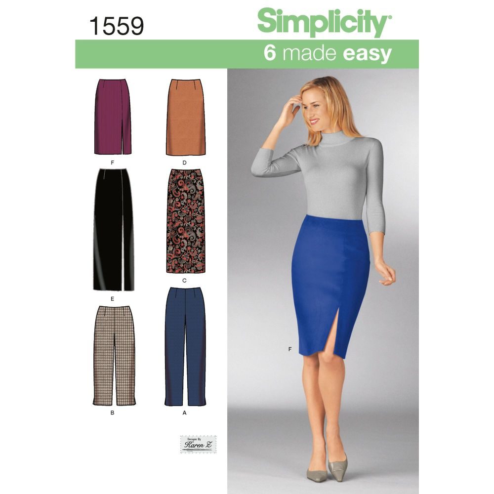 S1559 Simplicity sewing pattern UU (16-18-20-22)