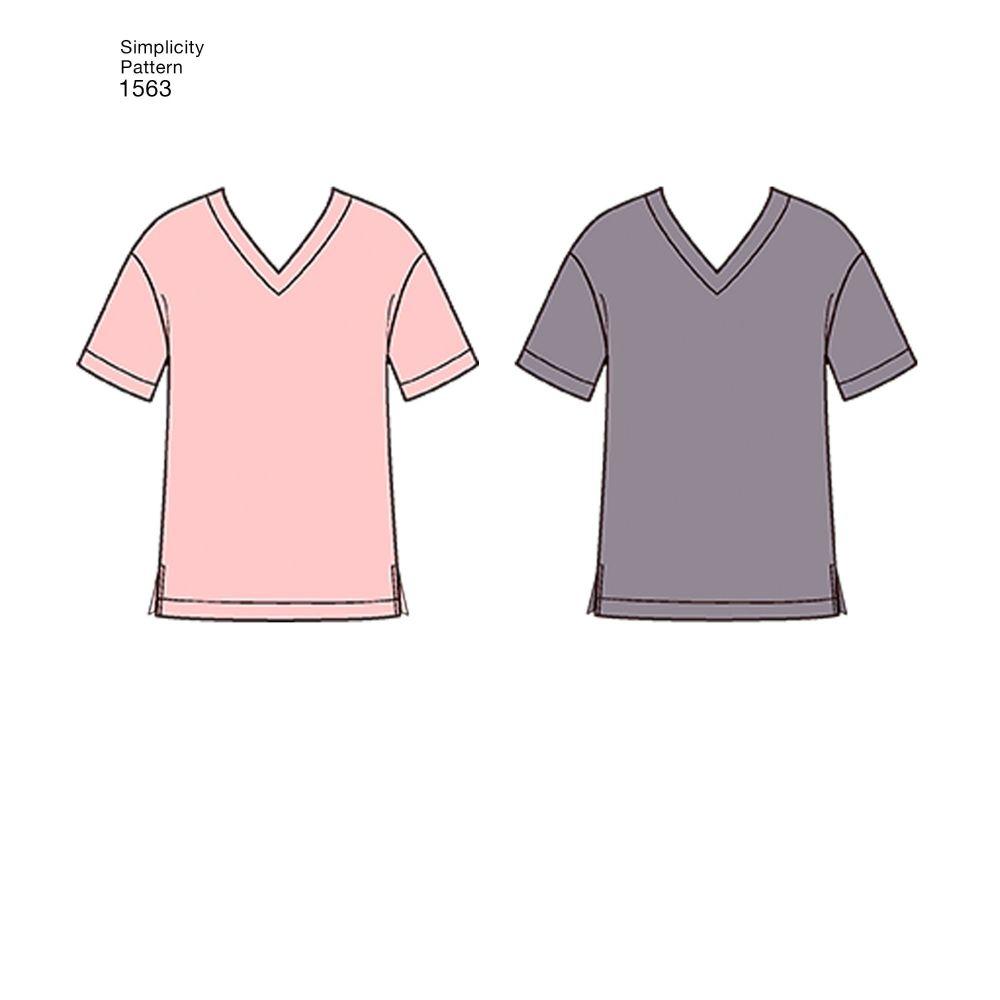 simplicity-unisex-scrubs-pattern-1563-AV1