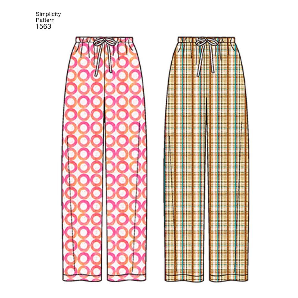 simplicity-unisex-scrubs-pattern-1563-AV3