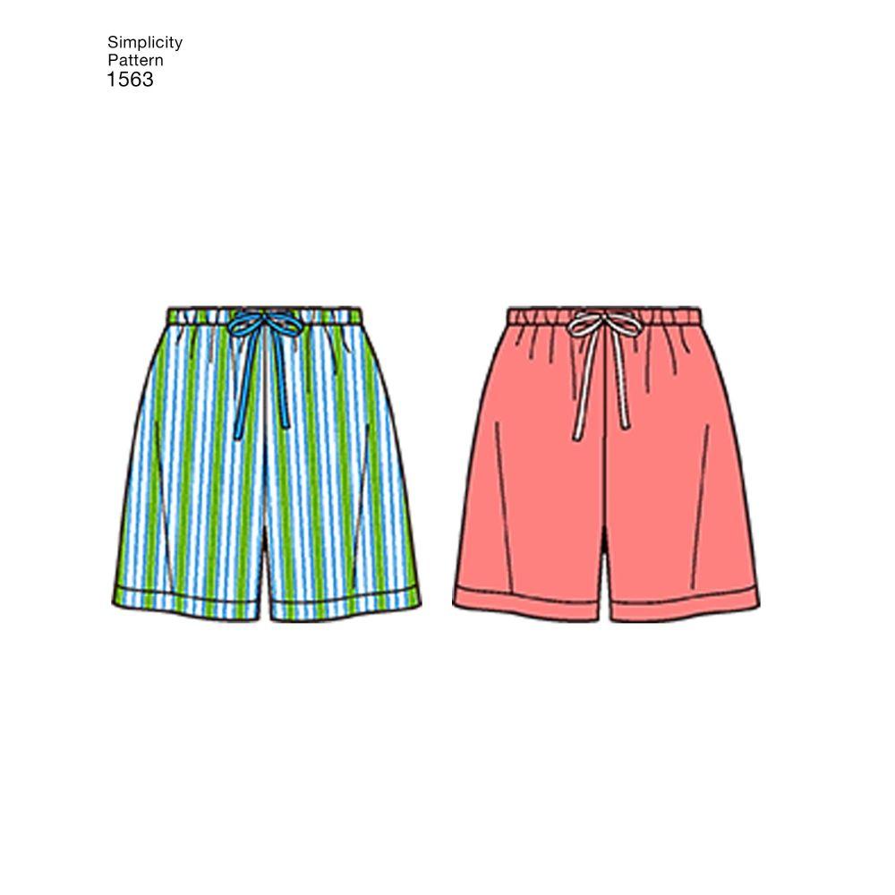 simplicity-unisex-scrubs-pattern-1563-AV4