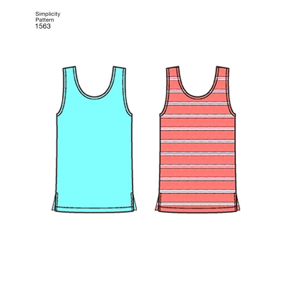 simplicity-unisex-scrubs-pattern-1563-AV5