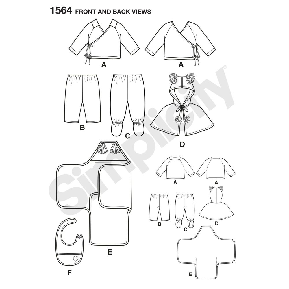 simplicity-babies-toddlers-pattern-1564-front-back-view