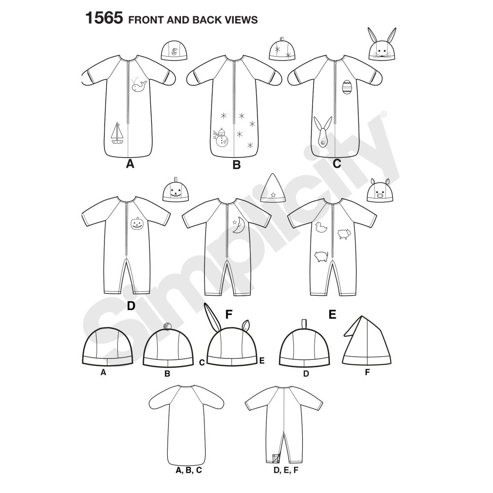 simplicity-babies-toddlers-pattern-1565-front-back-view