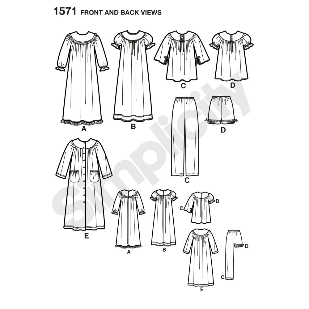 simplicity-girls-pattern-1571-front-back-view