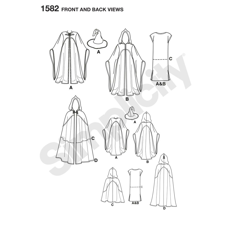 simplicity-costumes-pattern-1582-front-back-view