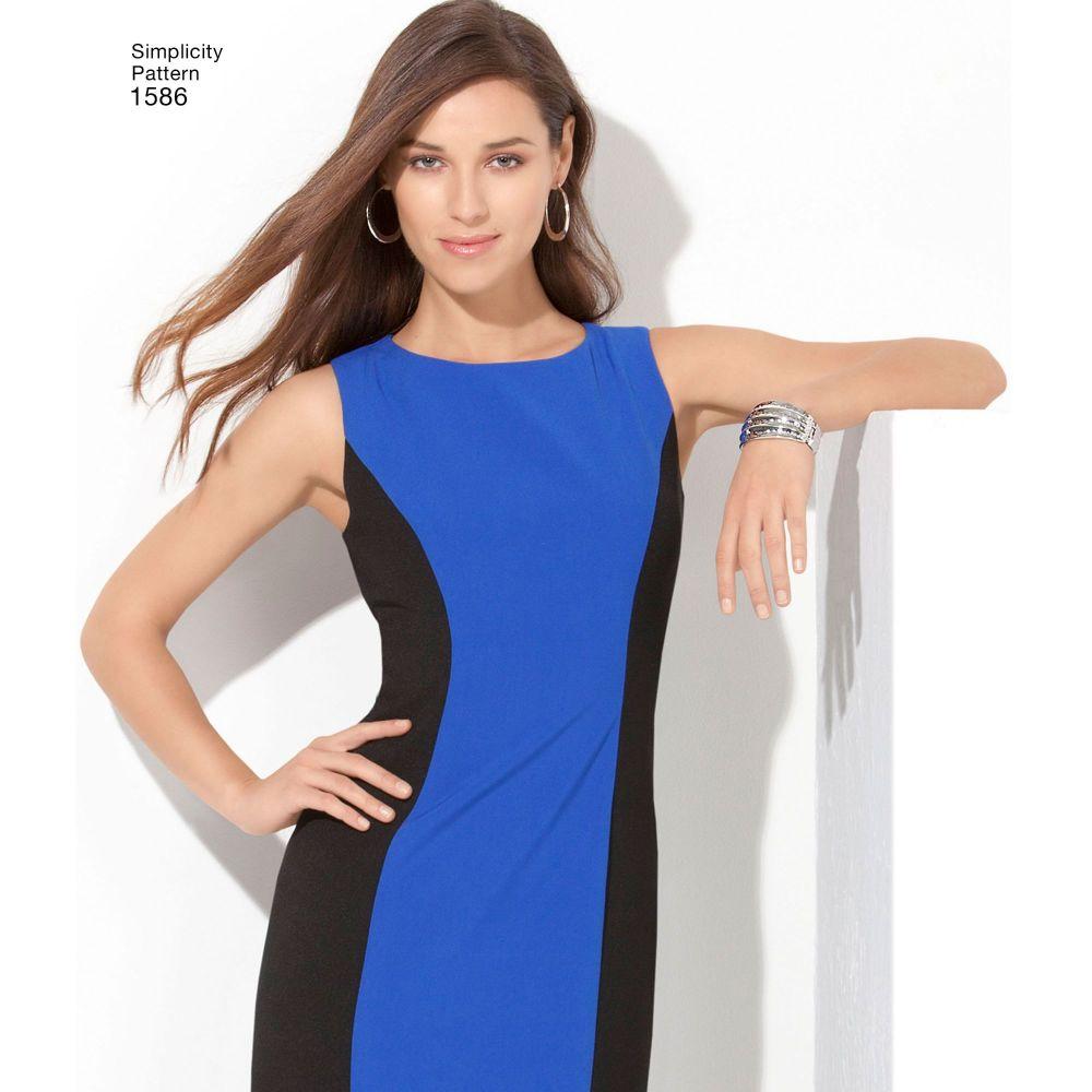 simplicity-dresses-pattern-1586-AV1A