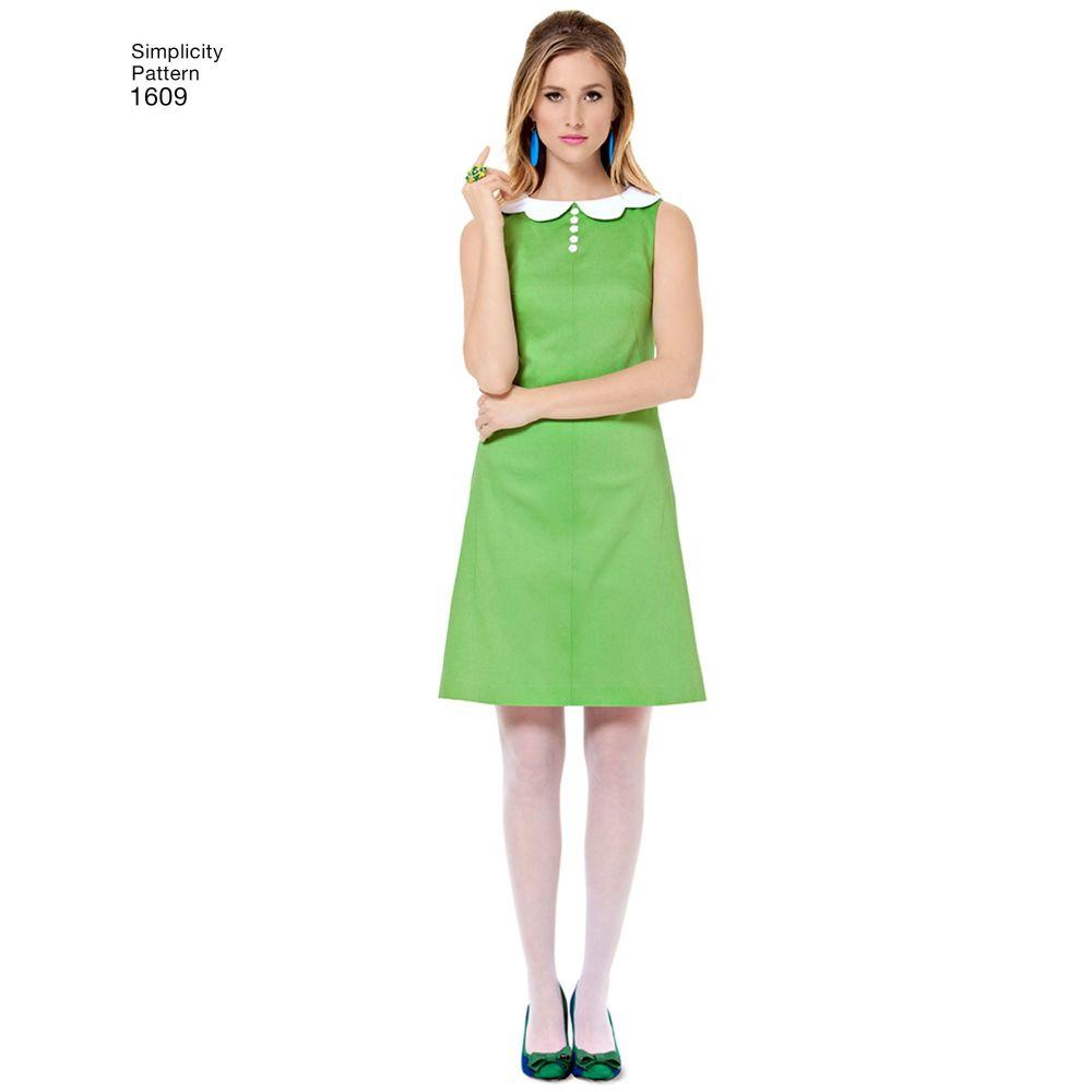 simplicity-dresses-pattern-1609-AV1
