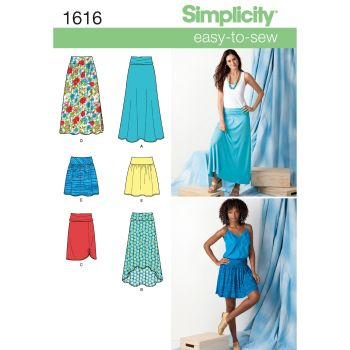 S1616 Simplicity sewing pattern K5 (8-10-12-14-16)