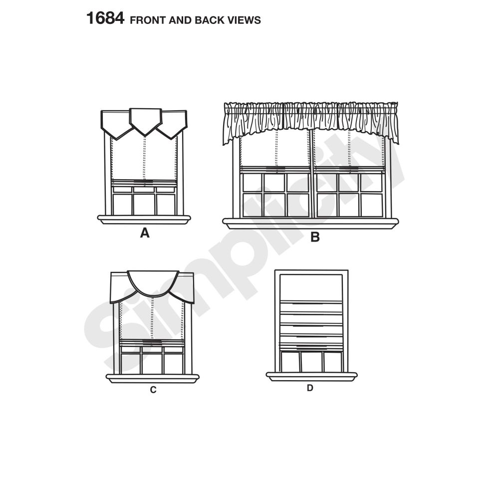 simplicity-home-decor-pattern-1684-front-back-view