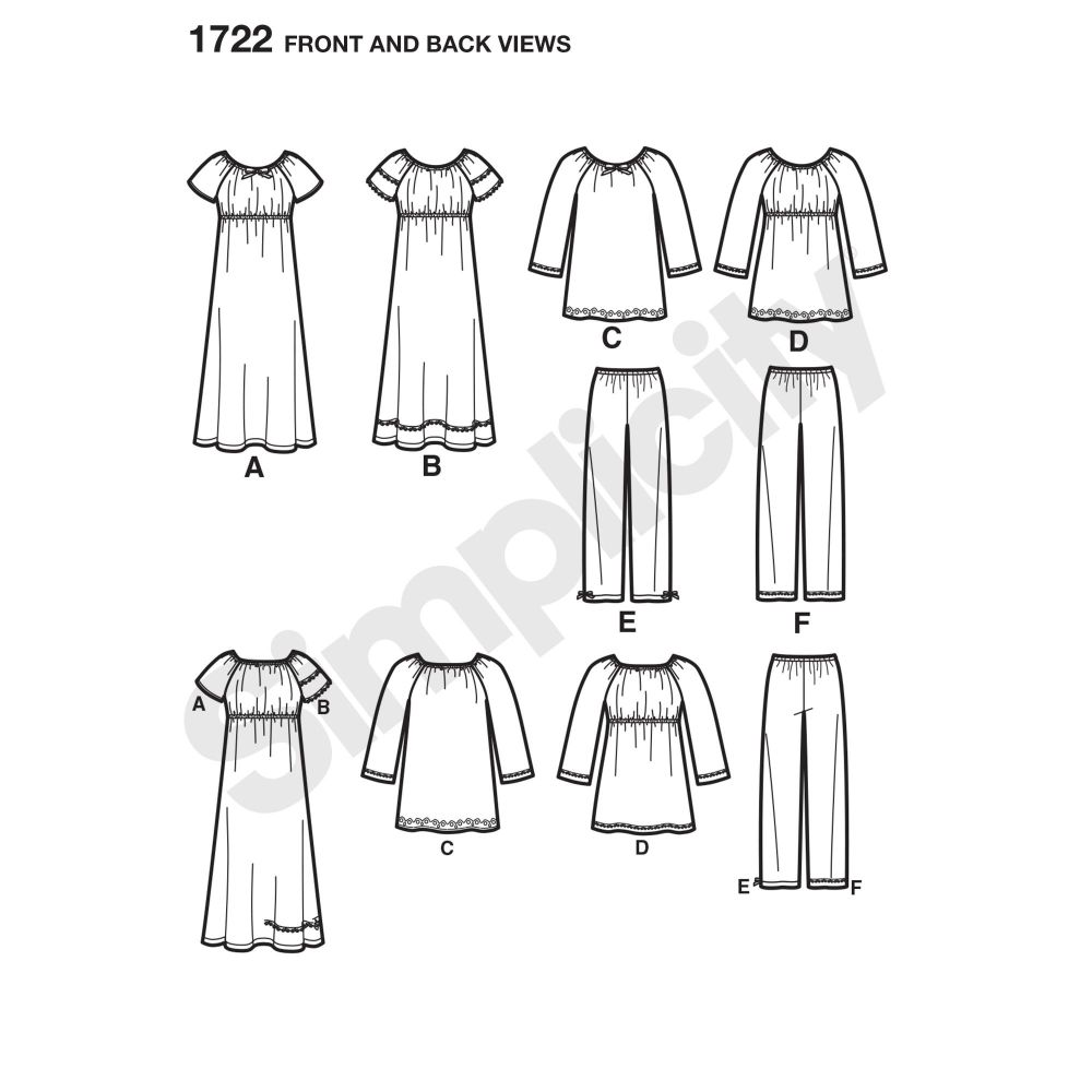 simplicity-girls-pattern-1722-front-back-view