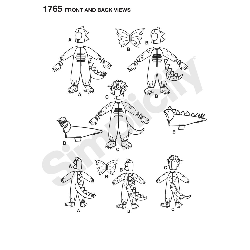 simplicity-children-pattern-1765-front-back-view