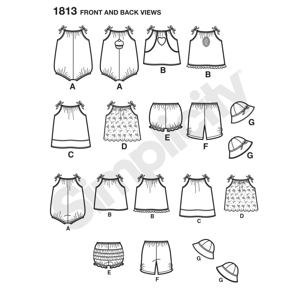 simplicity-babies-toddlers-pattern-1813-front-back-view