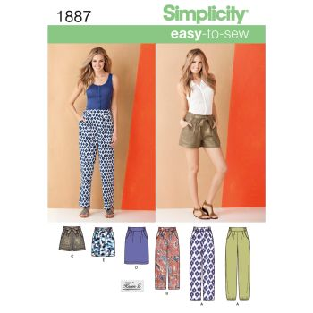 S1887 Simplicity sewing pattern K5 (8-10-12-14-16)