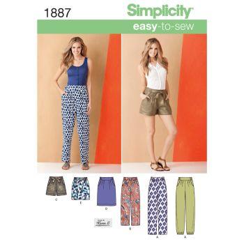 S1887 Simplicity sewing pattern U5 (16-18-20-22-24)