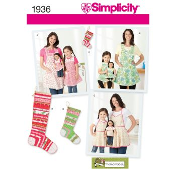 S1936 Simplicity sewing pattern A (S - L / S - L)