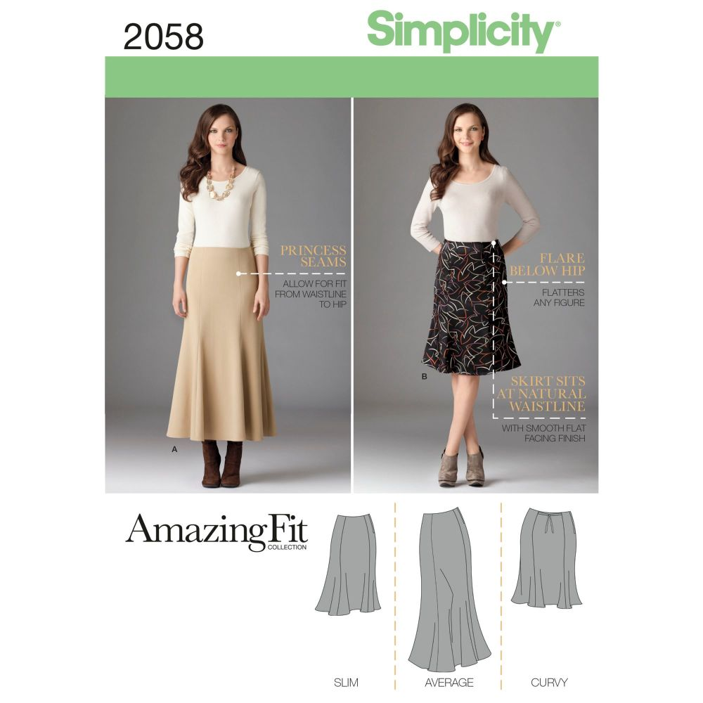 S2058 Simplicity sewing pattern BB (20W-28W)