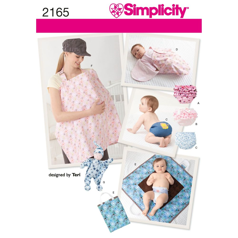 S2165 Simplicity sewing pattern A (ALL SIZES)